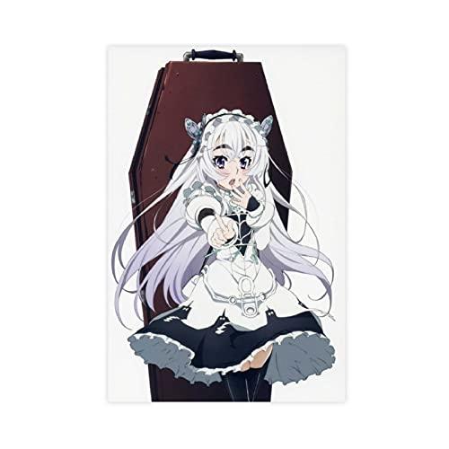 Chaika The Coffin Princess Chaika Trabant Anime 10 Leinwand Poster Schlafzimmer Dekor Sport Landschaft Büro Raumdekor Geschenk Ungerahmt: 30 × 45 cm