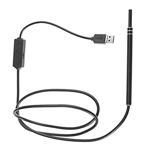 ENET 2-in-1 USB-Ohrreiniger Endoskop Visuelle Ohrlöffel & Mini-Kamera Ohrreinigungsset