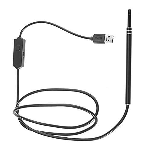 ENET 2in1USB Ohr von Endoskop Visual Ohrstäbchen/Ohrlöffel & Mini Kamera-Reinigungs-Set