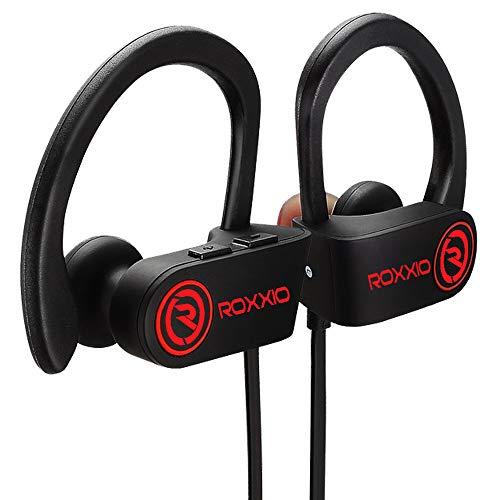 Roxxio Moov Wireless Bluetooth Earphone Sports Waterproof Headset with mic Hands Free...