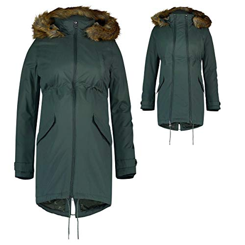 Noppies Jacket 2-way Malin giacca premaman Donna, Verde (Urban Chic P282) 42 (Taglia Produttore: Small)