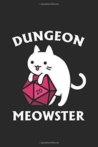 Dungeon Meowster: DnD Campaign Notebook Journal 150 Lined Pages