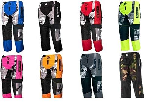 Bonz Mx Adult Teen Motocross Qaud Pit Dirt Bike Cordura Trousers Pants Bottom2 (36', Black)