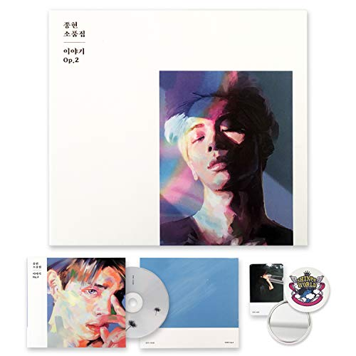 SHINEE JONGHYUN Album - The Story OP.2 [ ESSAY ver. ] CD + Booklet + Message Card + FREE GIFT / K-POP Sealed