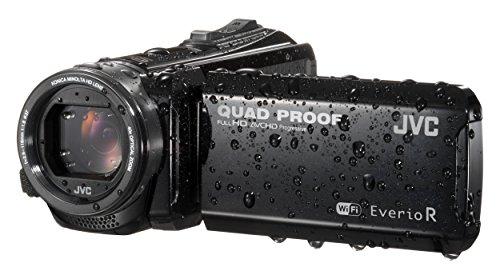 JVC GZ-RX601BEU Full HD Speicherkarten-Camcorder mit robustem