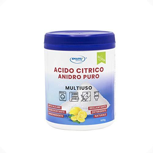 Acido Citrico Puro - Detergente Multiuso 100% di origine naturale - 500 g