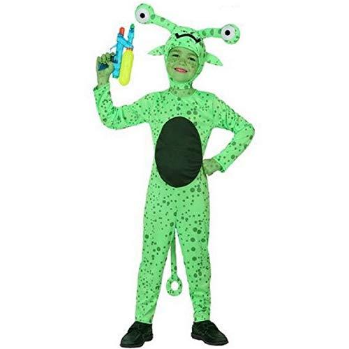 Atosa-16089 Disfraz Alien, color verde, 10 a 12 años (16089)