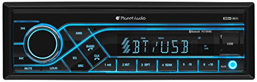 Planet Audio P370MB Car Receiver - Bluetooth / MP3 / USB, AM/FM Radio, (No CD/DVD)