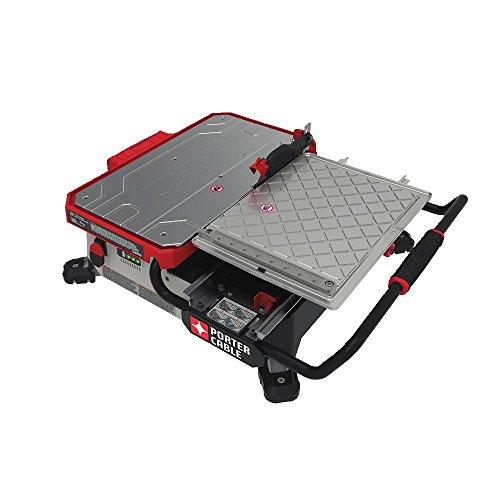 PORTER-CABLE 20V MAX Wet Tile Saw, Sliding, Table Top, 7-Inch (PCC780LA)