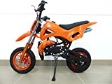 Rv-Racing Pocketbike Dirtbike Cross Bike Crossbike Kindercross Pocketcross Orange