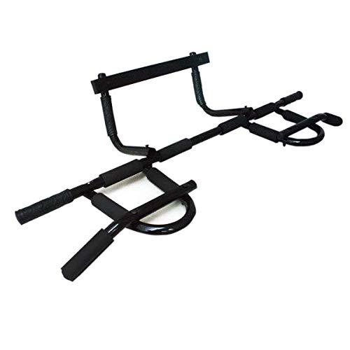 Barra Porta Iron Gym Flexão Multifuncional Fixa Exercícios