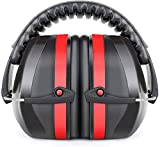 Fnova 34dB NRR Ear Protection for Shooting, Safety Ear Muffs Defenders