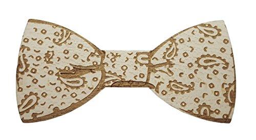 Woodstock Noeud papillon en bois, Mariage et cérémonie, Original et élégant, Attache aimant magnétique, accessoire femmes et hommes design