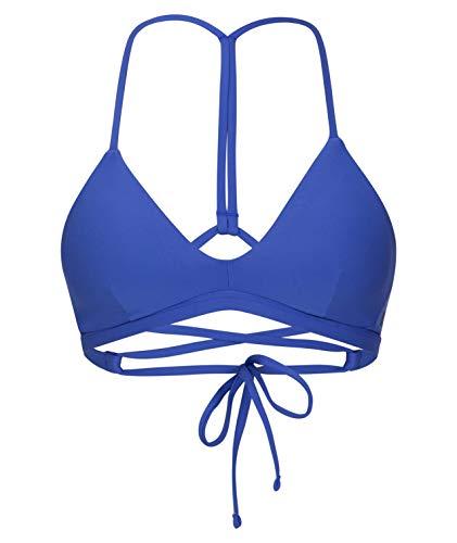 Hurley Damen Bikini Top W Adjustable Surf Top, Indigo, L, CJ7728