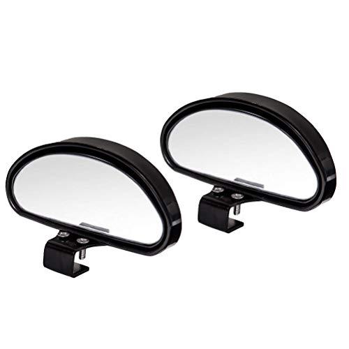 WildAuto Toter Winkel Spiegel Auto Blind Spot Spiegel, Universal Trainer Rückspiegel HD Einstellbar Rückspiegel Konvexe Spiegel Zusätzliche Rückspiegel Für Alle Arten von Fahrzeugen(2 STK)