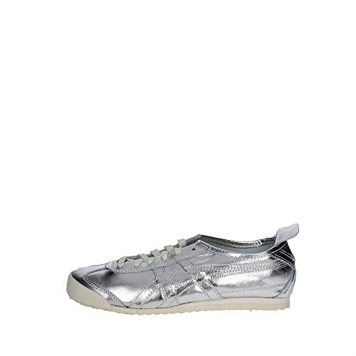 Onitsuka Tiger D6G1L..9393 Sneakers Homme Cuir Synthetique Argent Argent 44½