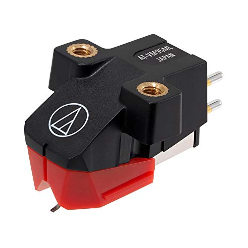 Audio-Technica AT-VM95ML Dual Moving Magnet Turntable Cartridge Red