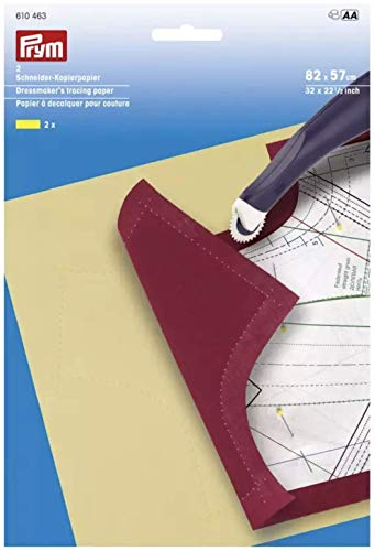 Prym Schneiderkopierpapier 82 x 57 cm gelb