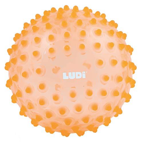 Ludi 2795OR - Palla Sensoriale, Arancione