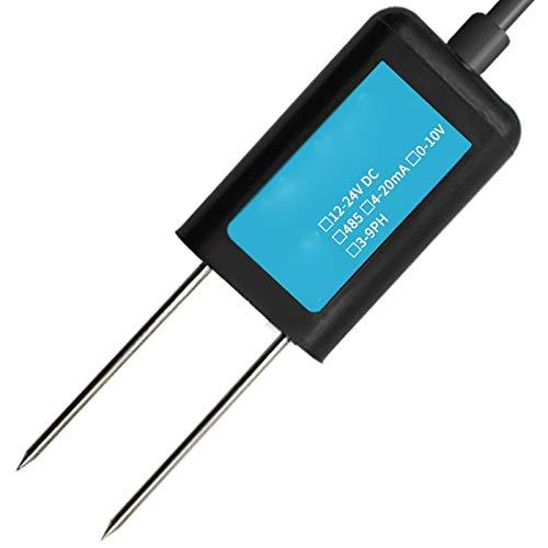 UOEIDOSB El pH del Suelo del Invernadero Detector analógico de Alta precisión 4G / PH del Suelo Sensor for Plantas de Interior al Aire Libre, Jardines de césped de la Hierba