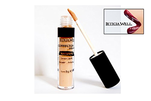 Anti Cernes Corrector fluido – Natural – N ° 2 oscuro – Leticia Well