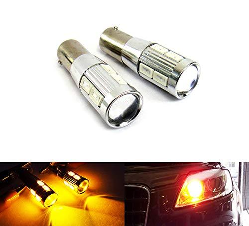 2 x ampoule ambre 435 H21W BAY9s de clignotant jour DRL lumière latérale Canbus