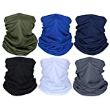 HOOUDO Headwear for Men Women,Multifunctional Bandana Head Neck Scarf Hairband Tube Gaiter Sports Running Headband Neck Snood Tube Scarf