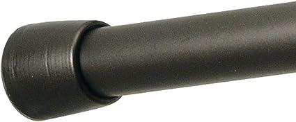 color negro 70 ~ 120 cm Barra telesc/ópica extensible para barra de cortina Cobeky