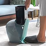 RUONING Papeleras con Pedal Y Tapa Cubo Basura Reciclaje Cubos De...