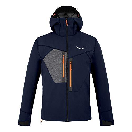 Salewa M Comici Jacket Blau, Herren Softshelljacke, Größe L - Farbe Navy Blazer