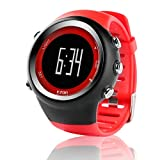 ZGZYL Reloj Deportivo Digital para Hombres Reloj Al Aire Libre En Al Aire Libre con 5Atm Contador A Prueba De Agua/De Calorías/De Cronómetro/Podómetro/Alarma/Función De Cronómetro,G