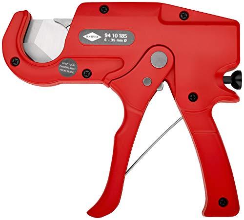 KNIPEX 94 10 185 Rohrschneider für Kunststoffrohre (Elektroinstallation) 185 mm