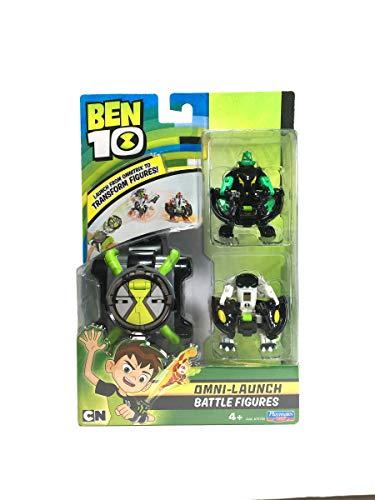Ben 10 Omnitrix Lanzador Diamante y Cannonbolt