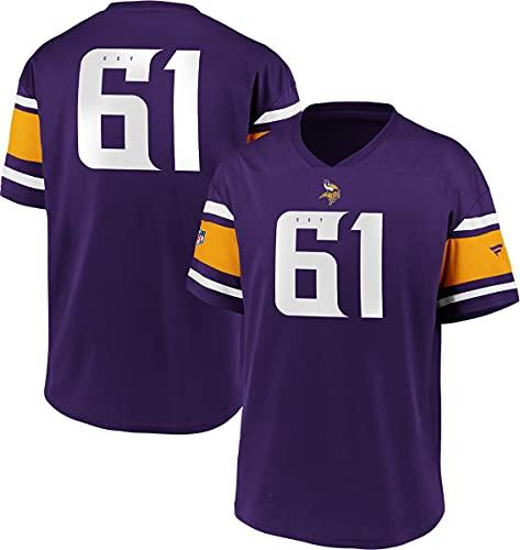 Fanatics NFL Minnesota Vikings Trikot Shirt Iconic Franchise Poly Mesh Supporters Jersey (M)