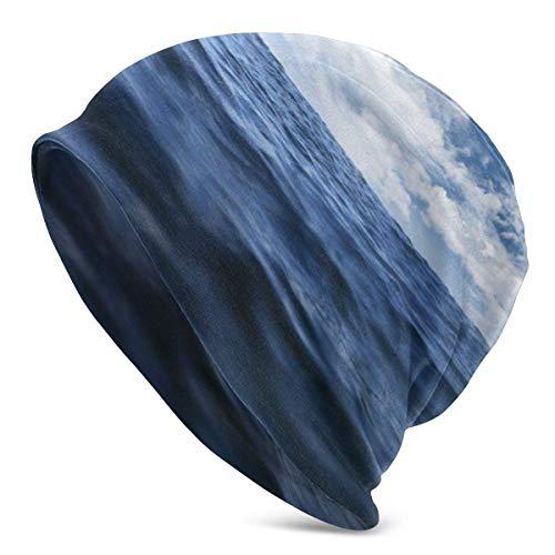 Nuvole Sky Blue Beanie Hat Cappello Turbante Elastico Leggero e voluminoso per Uomo e Donna, Berretto di confinamento Headwraps