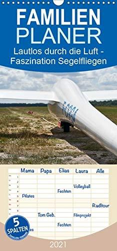 Lautlos durch die Luft - Faszination Segelfliegen - Familienplaner hoch (Wandkalender 2021 , 21 cm x 45 cm, hoch): Frei wie ein Vogel, ohne Motor, auf ... nach Thermik... (Monatskalender, 14 Seiten )