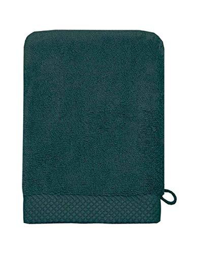 Sensei La Maison du Coton Gant De Toilette Sensoft - Couleur - Petrole, Taille - 16x21