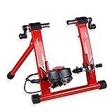 Kuingbhn Home Trainer TacX Vortex Entraîneur de vélo d'intérieur for vélo de Route et Montagne pour vélo d'intérieur vélo (Color : Red, Size : 26-28')