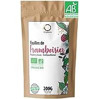 ☘️ Te Hojas de Frambuesa Organico 200g | Cura Bienestar Te Hojas Frambuesa: Infusión Final del Embarazo, Tila Lactancia, Reglas dolorosas | Raspberry Leaf Tea
