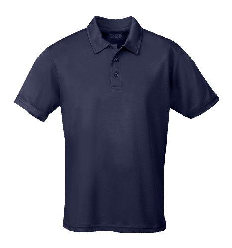 Just Cool - Performance - Performance Polo Shirt, atmungsaktiv, Shirt, atmungsaktiv, XL,Navyblau