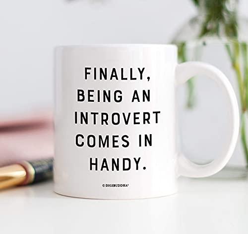 Introvertierte Kaffeetasse Bestseller Lustige Tassen Social Distancing Geschenk für ihren Geburtstag Anti Social Social Club Quarantäne Party und Gifting