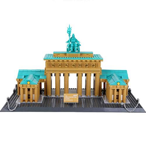OviTop Architektur Deutschland Brandenburger Tor Bausteine Bauset Kompatibel mit Lego -1552 Teile