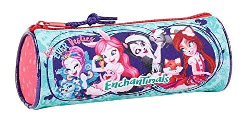 Enchantimals Oficial Estuche Redondo Oficial Escolar 200x70mm