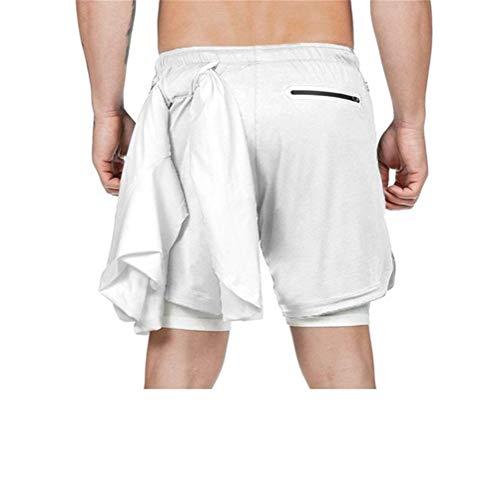 WANGXINQUAN Traje de baño Atractivo del Traje de baño for Hombre Hombres Bañador de natación Tabla de Surf Shorts Calzoncillos Beach Trajes pantalón Corto (Color : Rojo, Size : S)