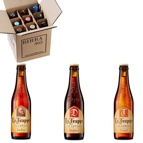 Caja selección de 9 cervezas trapenses La Trappe. Cerveza trapense de máxima calidad ideales para disfrutar de buenos momentos.