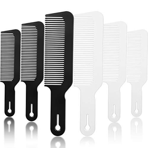 6 Pieces Clipper Combs, Flat Top Co…