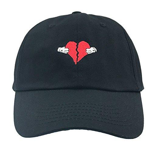 808s and Heartbreak Heartbreaker Dad Hat Cap Baseball Adjustable (Black)