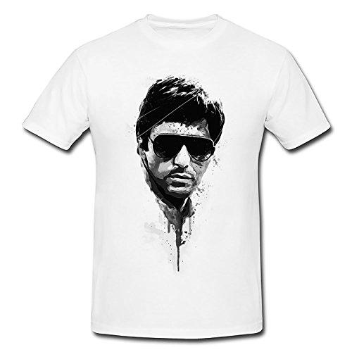 Al Pacino Scarface T-Shirt Herren, Men mit stylischen Motiv von Paul Sinus