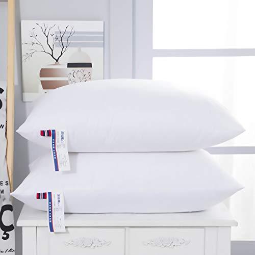 Hoogwaardig Slaapkussen, Geschikt Voor Thuis En Hotel Standaard Wasbaar Vervangingskussen, Hoge Elastische Bescherming Voor Rug- En Buikslaap, 2 Verpakkinge