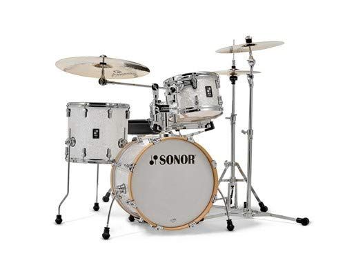 Sonor AQ2 Bop 4-Piece Shell Pack with Snare - White Marine Pearl